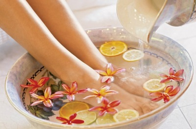Herbal foot bath