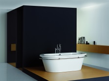 Acrylic bath by Philippe Starck