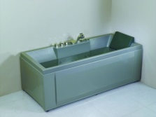 China acrylic bathtub with hydromassage