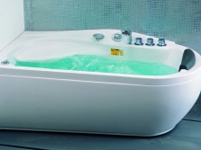 Acrylic bath with whirlpool Apollo