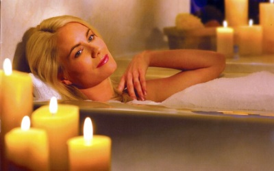 Relaxing bath without danger to health