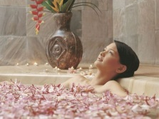 The correct reception of baths for relaxation