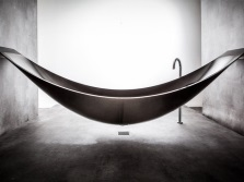 Smooth lines of unusual baths