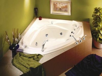Bath for two corner