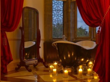 Create a romantic atmosphere