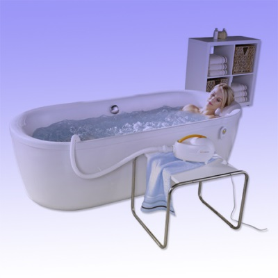 Work hydromassage system