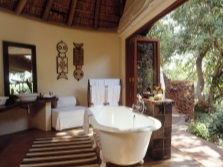 Bath in the African style