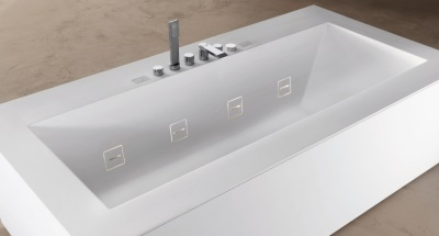 Invisible jets bath Teuco Guzzini