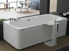 Bath custom sizes made ​​in Italy