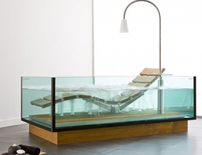 Glass Hot Tub