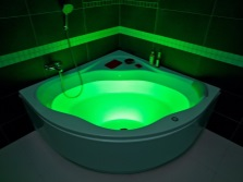Chromotherapy baths Bas