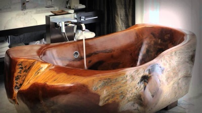 Bath wenge wood