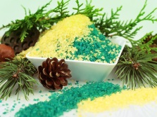 Sea salt with an extract of fir