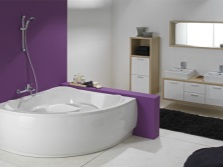 Bath irregular shape