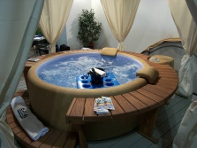 Combined jacuzzi