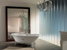 Shock resistant cast iron bath