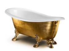 large cast iron bath