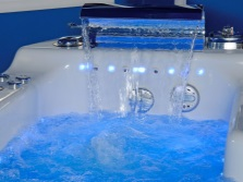 Hot Tub light blue