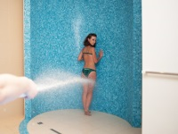 Sharko shower for weight loss