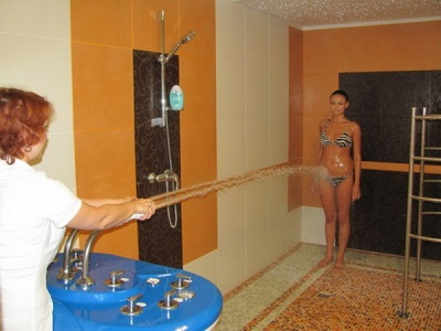 Sharko shower for slimming, anti-cellulite - hospital procedures