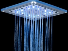 Square head shower