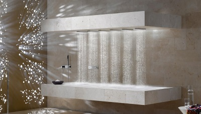 Vichy shower in the spa center