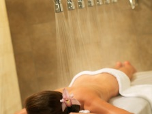 Vichy Shower needle in the spa salon