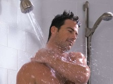 Cold and hot shower