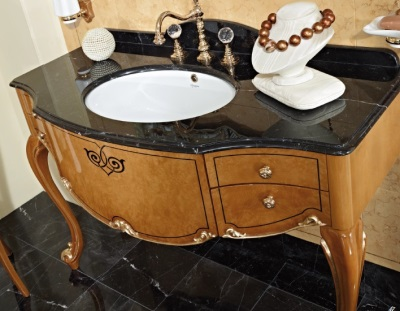 sink console that resembles a table
