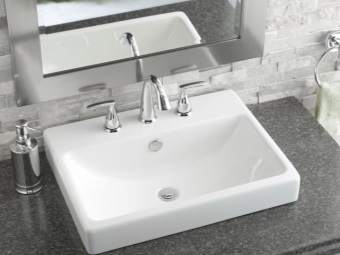 Popular width rectangular washbasins Bathroom