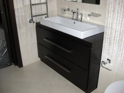 Popular sizes of cabinets with sinks for the bathroom