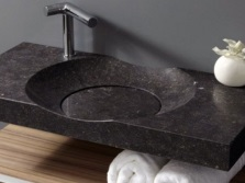 Pros washbasins in stone