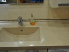 Artificial stone sinks for the bathroom
