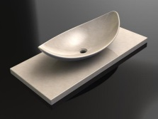 Advantages of artificial stone sinks in the bathroom