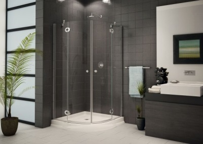Popular sizes showers without a roof
