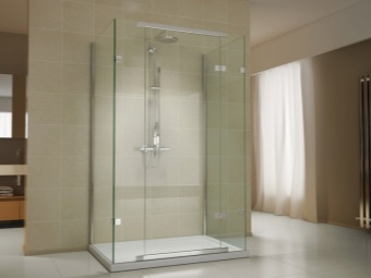 Recommendations for choosing a shower without a roof