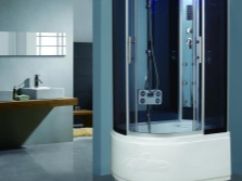 Shower cubicle with hydromassage TIMO T- 1120 L / R