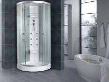 Shower cubicle with hydromassage TIMO TL- 1503
