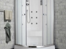 Shower cubicle with hydromassage TIMO T- 7709