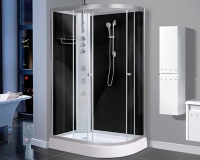 Popular sizes showers with hydromassage