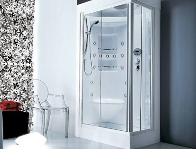 Combined shower from Gruppo Treesse