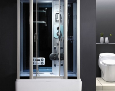 Shower cubicle with hydromassage domestic producers Akvapol