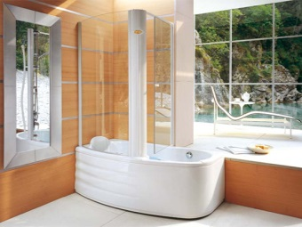 The rectangular tub combination