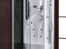 Glass shower box