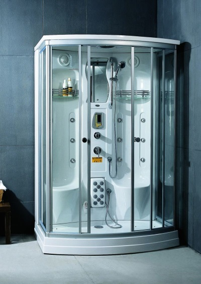 Shower rectangular Apollo