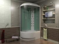 cabine de douche avec bac profond 120x80 80x80 90x90 120h90 150h80 build daily. Black Bedroom Furniture Sets. Home Design Ideas