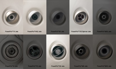 Types of nozzles for shower