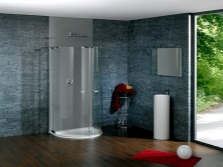 Shower from the German manufacturer Huppe