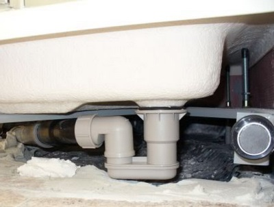 Repair drain shower