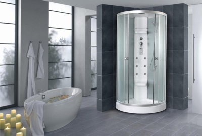 Shower bath with function
